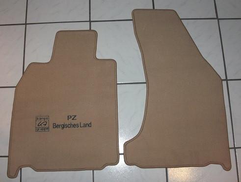 Fußmatten vorn, neu, mit Bose-Soundsystem, für Porsche 997